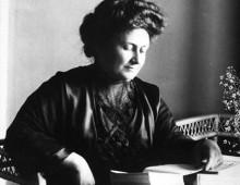 Maria Montessori <p> <small>Pädagogik</small>